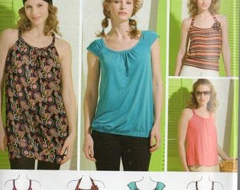 Simplicity Juniors Pattern 2903 KNIT MINI DRESS Tops 11/12 - 15/16