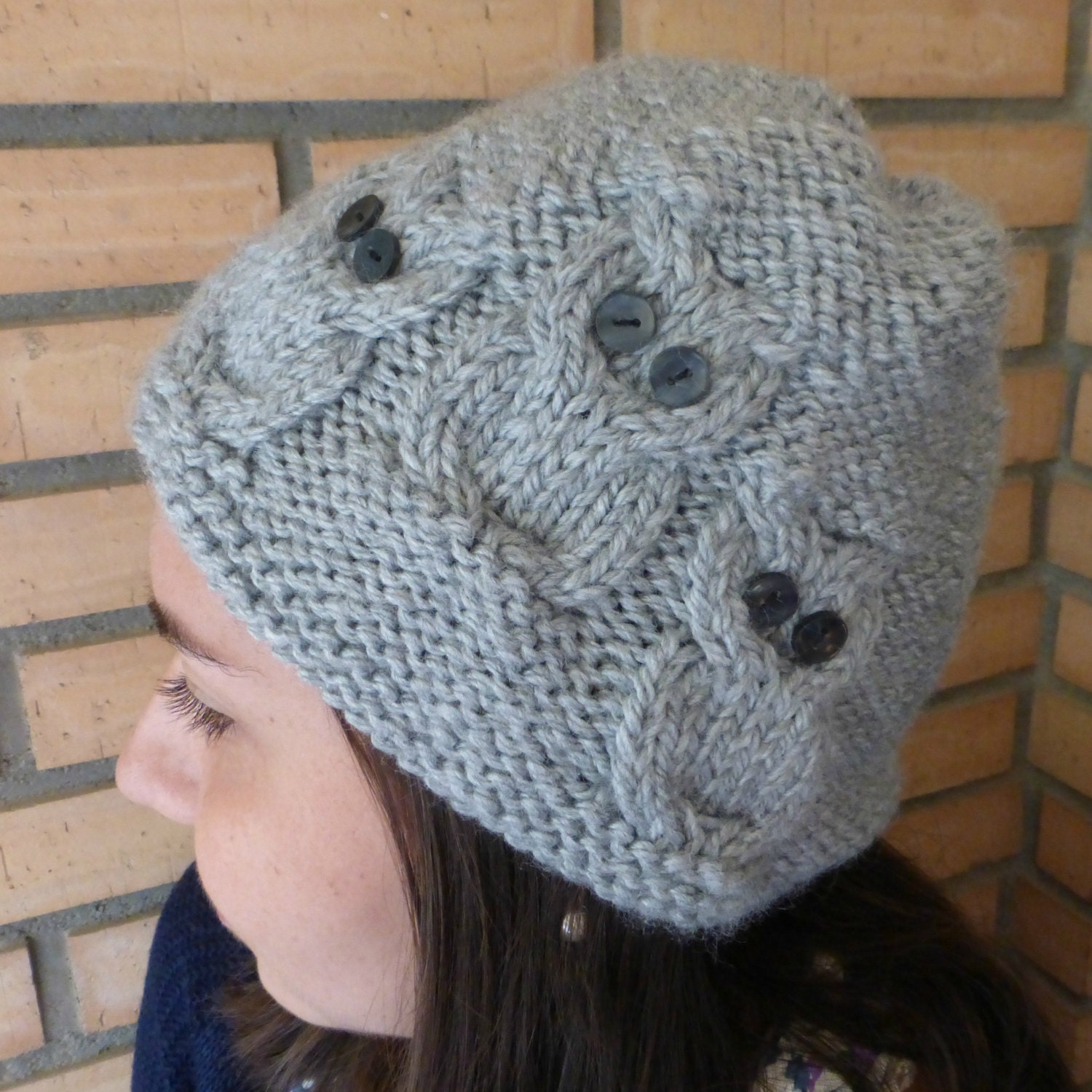 Knitting Hat Pattern Circular Needles : Two awesome knitting patterns owls hat and cowl for