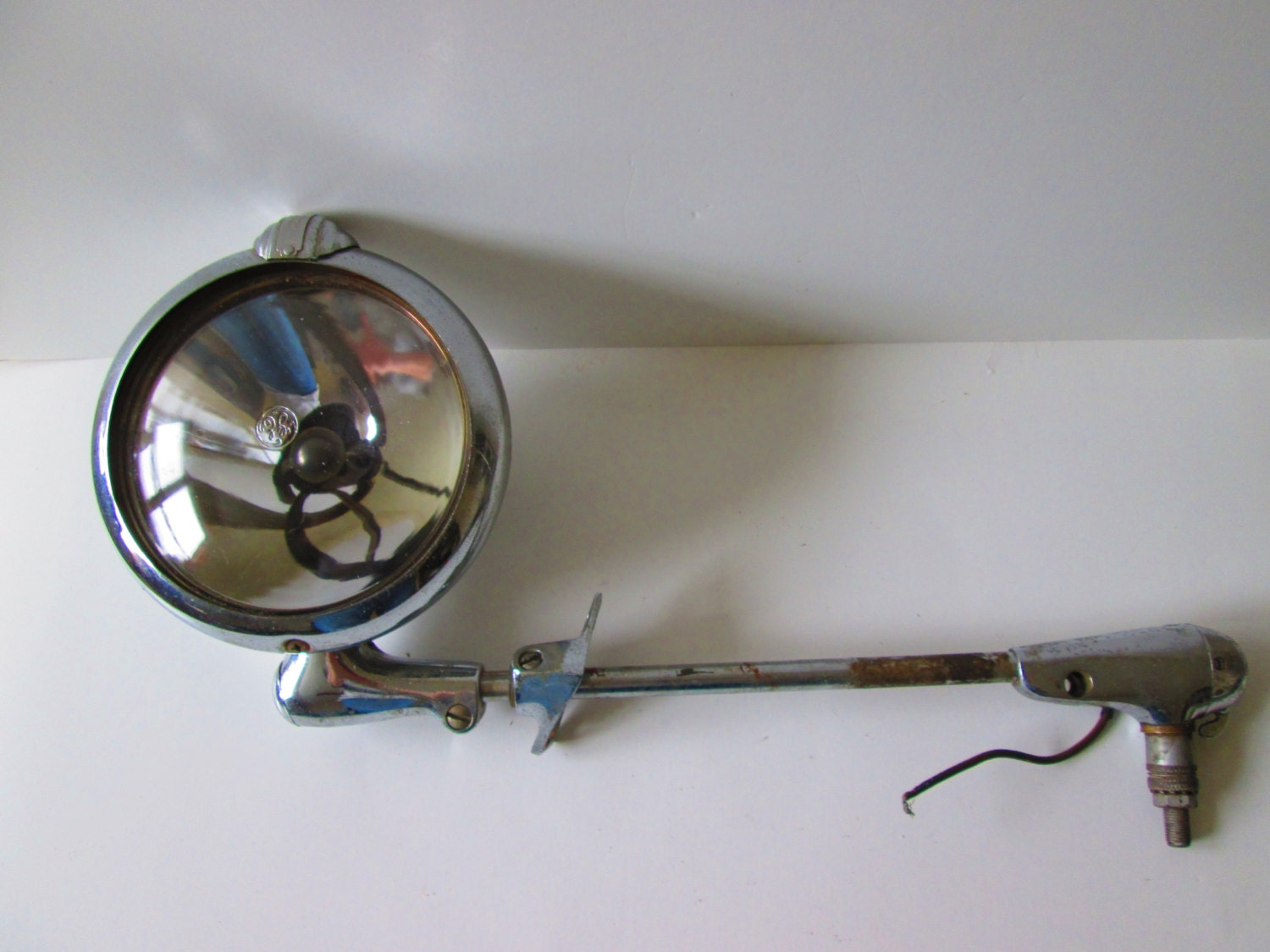 Vintage Police Car Spotlight Lamp Unity Model S6 With
