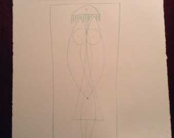 Vintage Abstract original Pablo Picasso lithograph