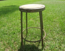 Popular Items For Vintage Metal Stool On Etsy