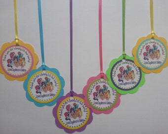 My Little Pony Favor Tags