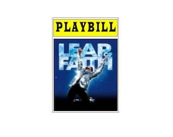 Theater / Show Charm - Playbill Play Bill - Leap of Faith
