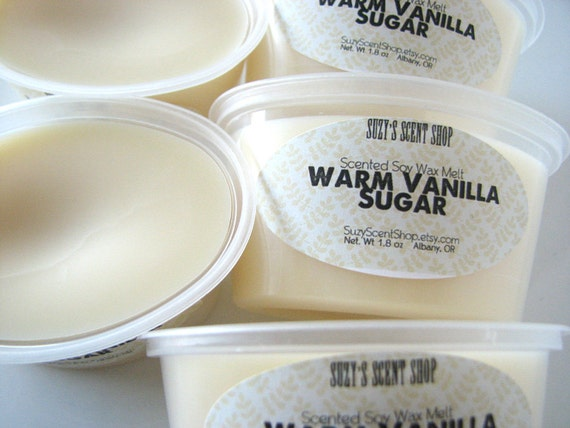 Warm Vanilla Sugar - Scented Soy Wax Melt - 2 Pack - Home Fragrance ...