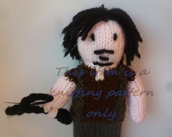 PDF knitting pattern: Daryl Dixon (The Walking Dead)