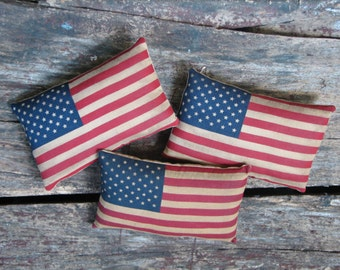 Three Flags sold as a set of 3