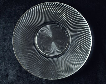 "Diana 11 1/2"" sandwich plate-Federal Glass Co."