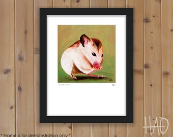 Mouse Print from Original Oil Painting