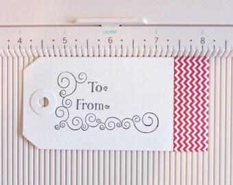 Set of Five Christmas Gift Tags, Snowflake Gift Tag,Handmade Gift Tag,Holiday Gift Tag,Handmade Christmas Gift Tag,Handmade Holiday Gift Tag