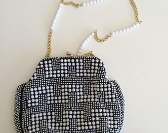 Black and Pearl Purse