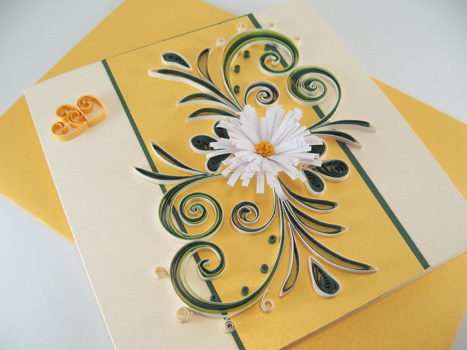 quilling valentine card paper handmade greeting card