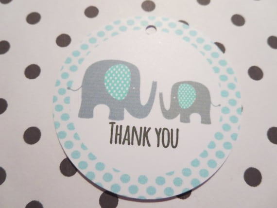 baby boy shower thank you favour tags by thepaperbirdcage on etsy