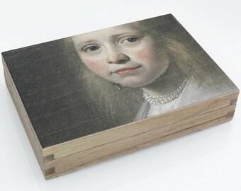 Wood Box with Fine Art Print