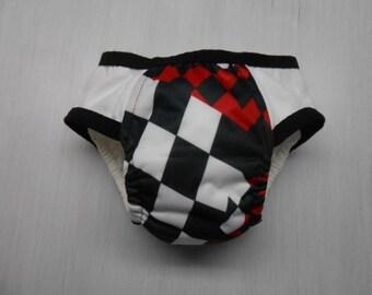 Boys adjustable Cloth Training Pants sz large adjusts to med