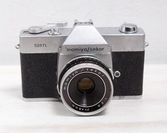 Vintage Mamiya Sekor Sears 528 TL Film Camera 35mm Film Camera Collectors Box  Lens Reflex Camera, ohtteam,  Fully Operational, Japan Camera