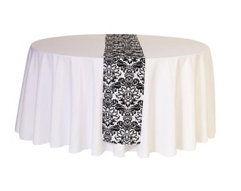 Damask Table Runner | Wedding Table Runners
