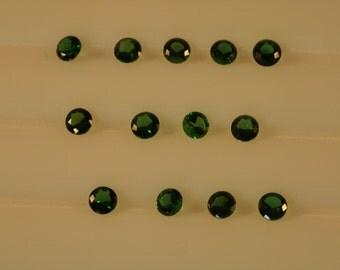 Chrome Tourmalines 4mm Round