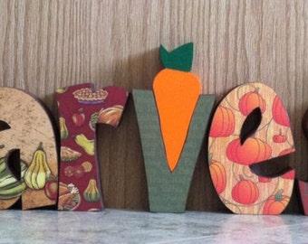 Harvest Letter Set