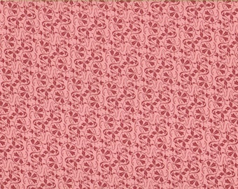 Peachy Vines  100% Cotton Fabric Sold by Half Yard (23000)