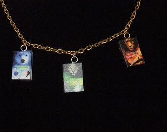 His Dark Materials Book Series Necklace - Great Gift for Book Lovers!