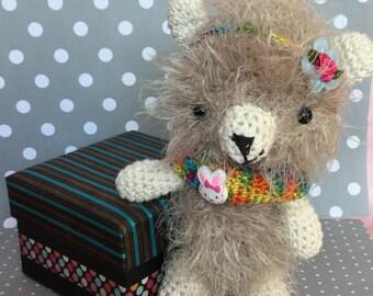 Crochet Teddy Bear (Amigurumi)