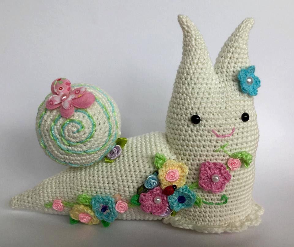 Amigurumi PATTERN Spring Snail Crochet PDF Pattern by ...