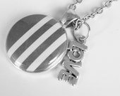 Changeable Charms - Add On Charms to your Necklace - Silver Love. Build Your Own Changeable Necklace or Bracelet Set!