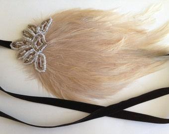 Flapper Headdress for Flapper Dress 1920s Headband