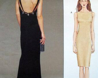Vogue Plus size evening gown, prom dress wedding gown, Badgley Mischka Vogue 2501 Sizes 14-18