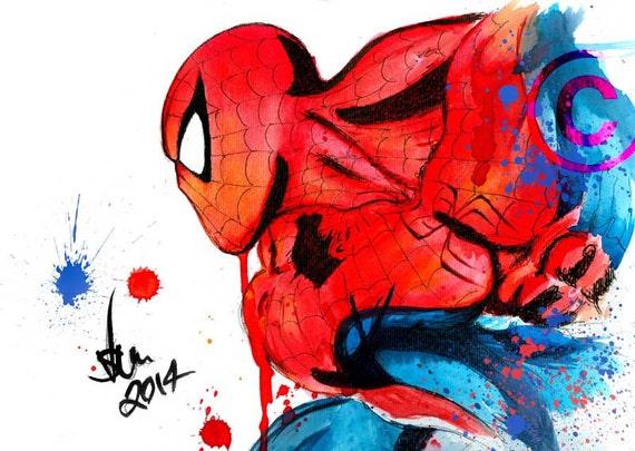 Spiderman Unique Wall Art