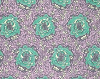 Half Yard - 1/2 Yard - Take Flight in Zinc - VIOLETTE Collection by Amy Butler