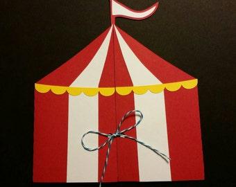 Circus Tent Invitation & Circus Tent Invitation Printable Circus Invite Carnival