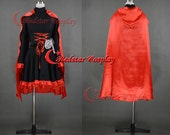 RWBY Red Ruby Rose Cosplay Costume - Custom Made in any size