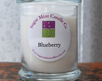 Blueberry Soy Candle - 12 oz