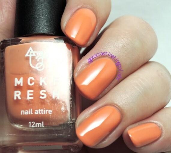 Carrot Sticks Indie Nail Polish Pastel Orange Creme