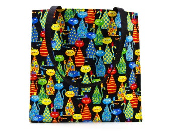 Cat and Mouse Shopping Tote