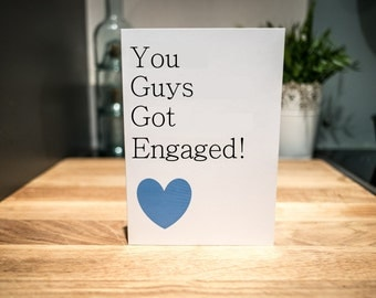 Gay Engagement Card | LGBT Card