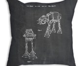 Star Wars AT AT Imperial Walker Pillow, Star Wars Pillow, Starwars Pillow, Star Wars Decor, PP146