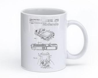 Nintendo Game Boy Mug, Gamer Gift, Nintendo Mug, Gamer Mug,  Nintendo Gift, PP0070