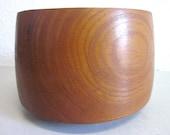 Danish modernist TEAK bowl BROSTE Denmark - 50s 60s mid-century