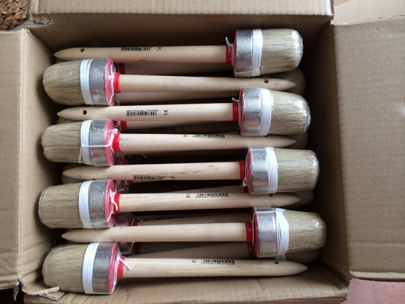 Box of 50 x 50mm shabby chic paint brush 50 for Wholesale chalk paint