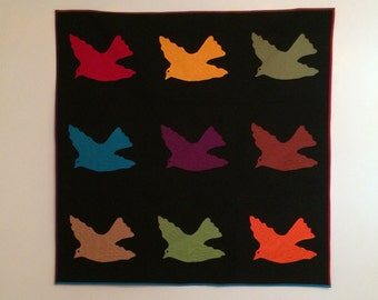 Birds in Flight Wall Hanging