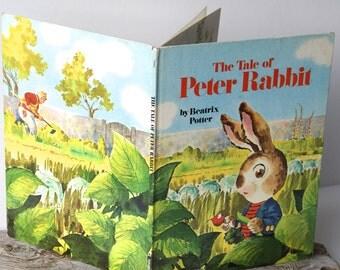 "Vintage Big Golden Book ""The Tale of Peter Rabbit"" by Beatrix Potter"