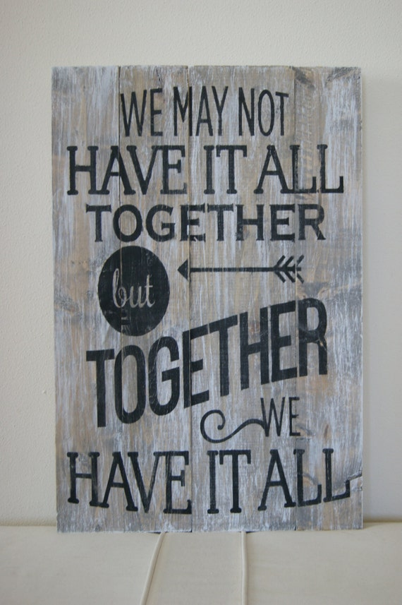 Items Similar To Wood Quote Sign Pallet Art Quot We May Not