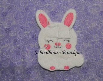 Felt Bunny Learning Puzzle - Logic Thinking Game - Easter Basket Filler - Stocking Stuffer - Preschool Puzzle -Soft Game