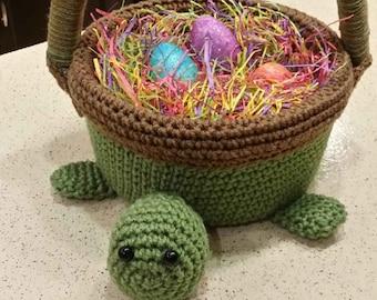 Turtle Easter Basket