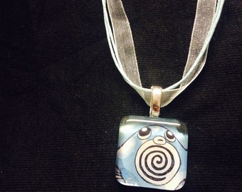 Poliwag Pokemon Pendant -choose your own necklace-