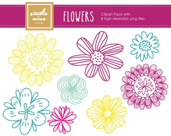 Flowers Clipart Set