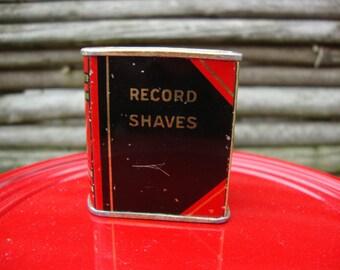 Razor blade bank - vintage blade safe Gem shaving tin for Gillette type razor blades