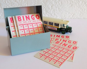 BINGO game cards